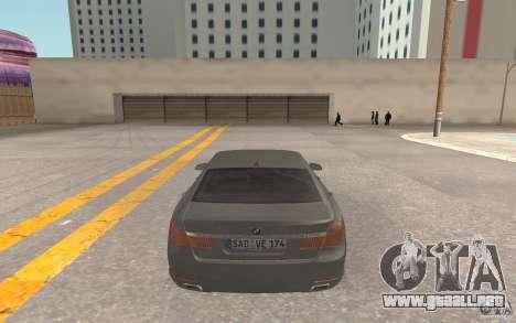 BMW 730d para la visión correcta GTA San Andreas