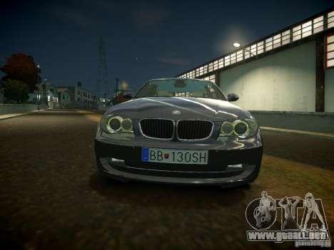 BMW 120i para GTA 4 left