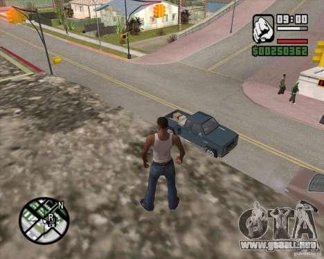 GTA 4 Anims for SAMP v2.0 para GTA San Andreas séptima pantalla
