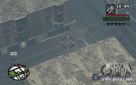 AC-130 Spectre para la visión correcta GTA San Andreas