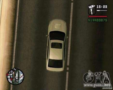 Subaru Legacy 2010 v.2 para la visión correcta GTA San Andreas
