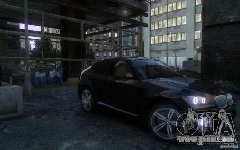 BMW X6 para GTA 4 visión correcta