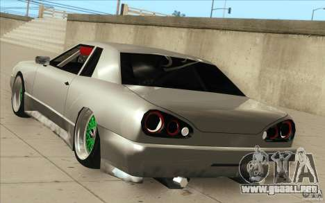 New elegy para la vista superior GTA San Andreas