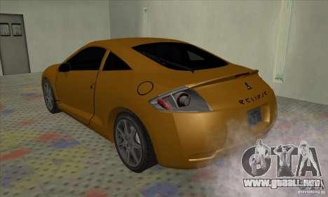 Mitsubishi Eclipse GT para la visión correcta GTA San Andreas