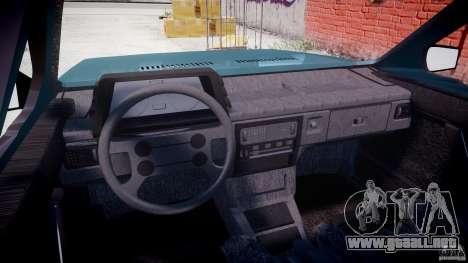 Volkswagen Gol GL para GTA 4 visión correcta
