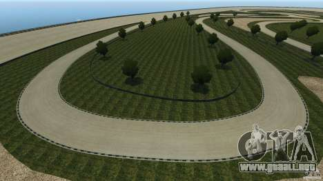 Dakota Raceway [HD] Retexture para GTA 4 undécima de pantalla