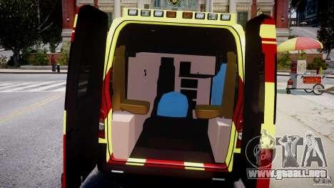 Renault Master 2007 Ambulance Scottish [ELS] para GTA 4 visión correcta