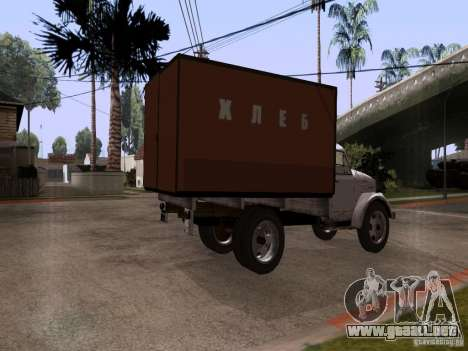 GAZ 51 pan para GTA San Andreas left