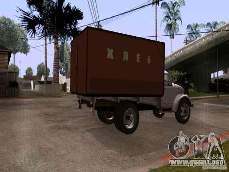 GAZ 51 pan para GTA San Andreas left