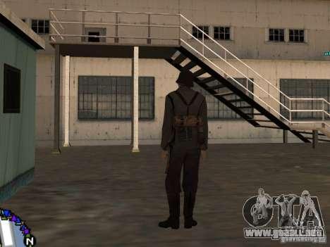 Unteroficer de la Wehrmacht para GTA San Andreas tercera pantalla