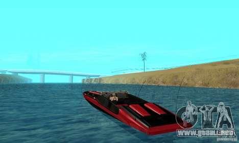 GTAIV TBOGT Smuggler para GTA San Andreas vista posterior izquierda