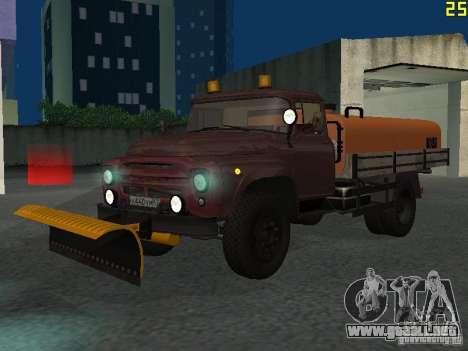 Ko-829 en beta chasis de camión ZIL-130 para GTA San Andreas