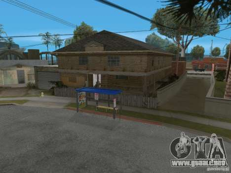 Nuevo Groove Street para GTA San Andreas séptima pantalla