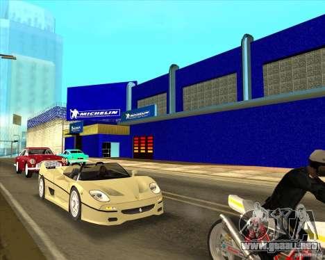 Garage Michelin para GTA San Andreas tercera pantalla