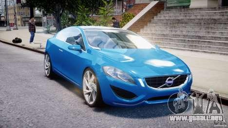 Volvo S60 Concept para GTA 4 vista hacia atrás