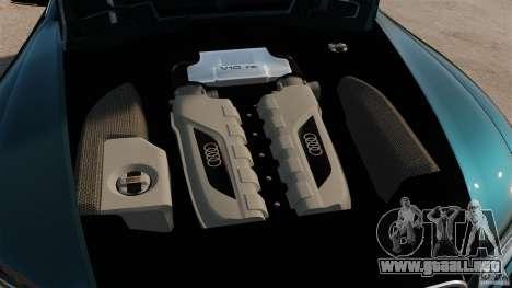 Audi S5 Conceptcar para GTA 4 vista hacia atrás