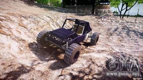 Buggy beta para GTA 4 vista hacia atrás