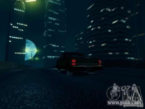 ENBSeries v1 para GTA San Andreas sucesivamente de pantalla