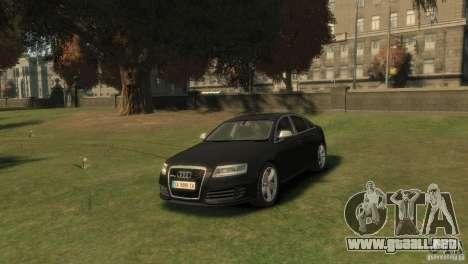 Audi RS6 v.1.1 para GTA 4