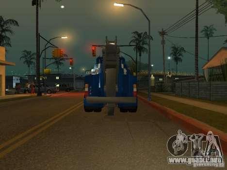 MAN F2000 (con guión de CLEO) para GTA San Andreas vista hacia atrás