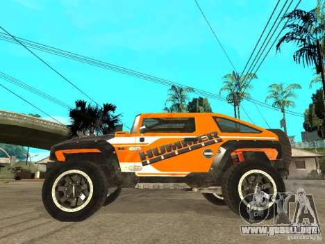 Hummer HX Concept from DiRT 2 para GTA San Andreas left