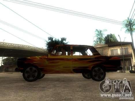 2106 VAZ del juego S.T.A.L.K.E.R. para GTA San Andreas left