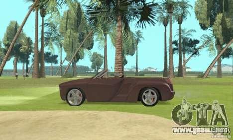 Dodge Sidewinder Concept 1997 para la visión correcta GTA San Andreas