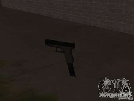 Weapon Pack para GTA San Andreas novena de pantalla