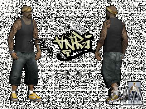 Gagns skinpack by AnRi para GTA San Andreas tercera pantalla