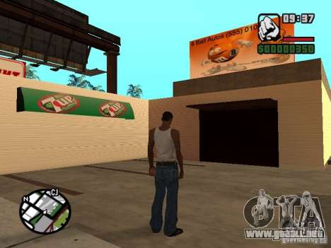 Tiendas de imán para GTA San Andreas quinta pantalla