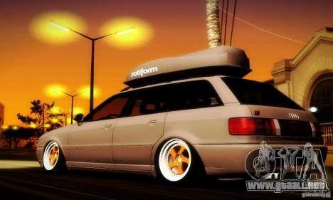 Audi RS2 Avant Thug para GTA San Andreas left