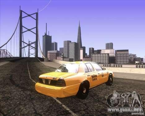Enbsereis 0.74 Dark para GTA San Andreas tercera pantalla