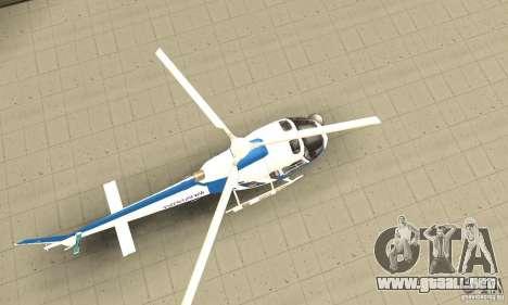 AS-350 Police para la visión correcta GTA San Andreas