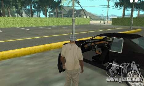 Cadillac Eldorado 1996 para GTA San Andreas vista hacia atrás