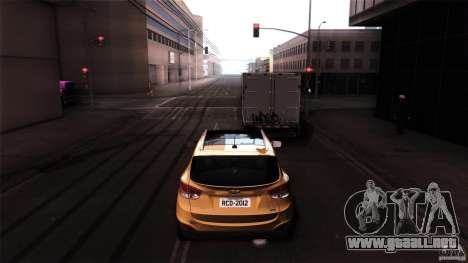 Hyundai iX35 Edit RC3D para la visión correcta GTA San Andreas