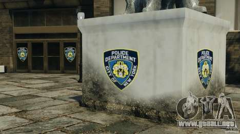 Remake second police station para GTA 4 tercera pantalla