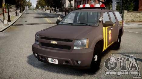 Chevrolet Tahoe Indonesia Police para GTA 4
