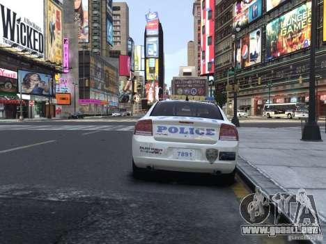 Dodge Charger NYPD para GTA 4 visión correcta