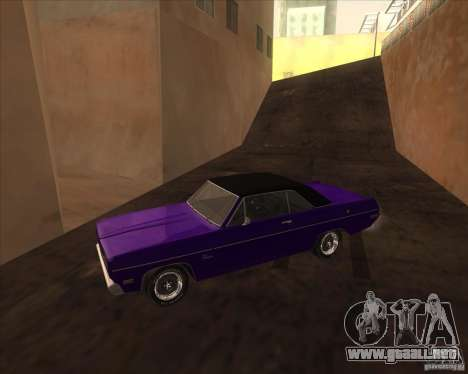 1971 Plymouth Scamp para GTA San Andreas left