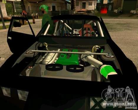 Hotring Racer Tuned para vista inferior GTA San Andreas