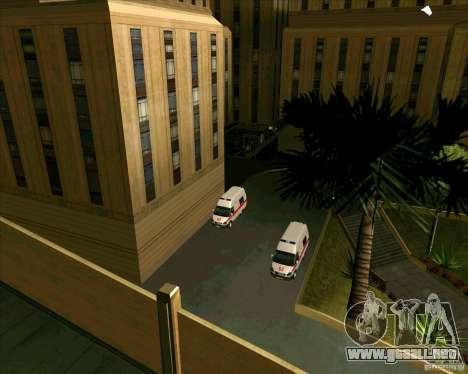 Los vehículos estacionados v2.0 para GTA San Andreas segunda pantalla