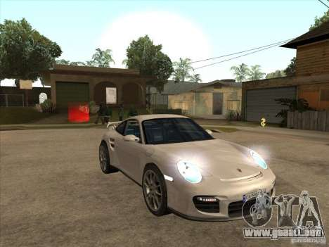 Porsche 911 GT2 para GTA San Andreas vista hacia atrás