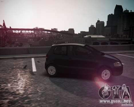 Volkswagen Fox 2011 para GTA 4 left