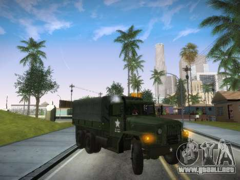 AM General M35A2 para GTA San Andreas left