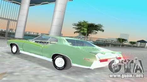 Pontiac GTO The Judge 1969 para GTA Vice City visión correcta