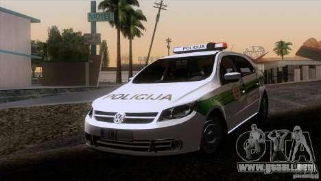 Volkswagen Voyage Policija para GTA San Andreas left