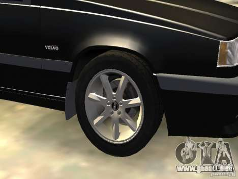 Volvo 850 R 1996 Rims 1 para GTA 4 vista lateral