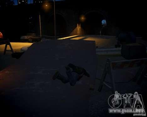 Collision Mod para GTA 4 adelante de pantalla