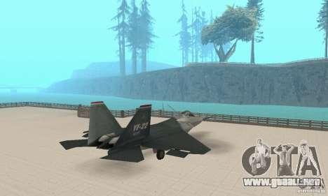 Y-f22 Lightning para GTA San Andreas left