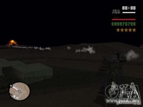javelin and stinger mod para GTA San Andreas segunda pantalla